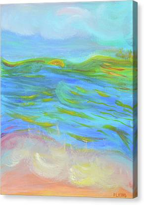 A Peaceful Soul - Abstract Painting Canvas Print