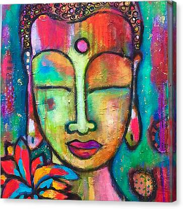 Peaceful Warrior  Canvas Print