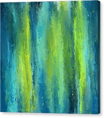 Peacock Shades Canvas Print by Lourry Legarde