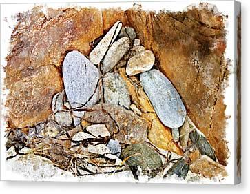 Peaks Corner Pocket Wc Canvas Print by Peter J Sucy
