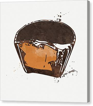 Peanut Butter Cup Canvas Print