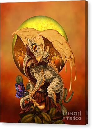 Peanut Butter Dragon Canvas Print