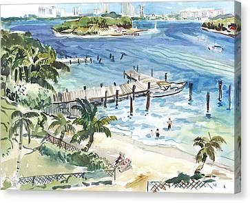 Peanut Island Canvas Print