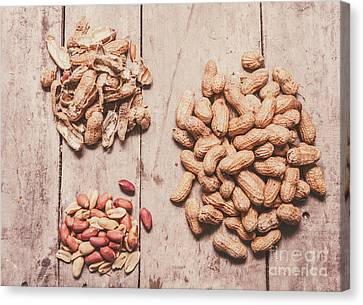 Nutrients Canvas Print - Peanut Shelling by Jorgo Photography - Wall Art Gallery