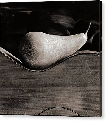Pear #4745 Canvas Print by Andrey Godyaykin
