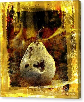 Pear Canvas Print by Bernard Jaubert
