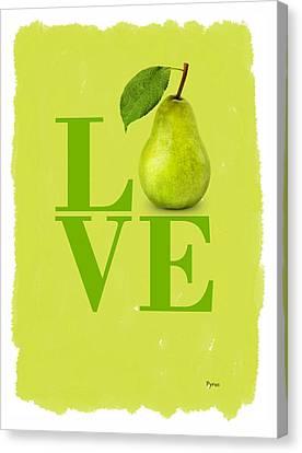 Pear Canvas Print - Pear by Mark Rogan