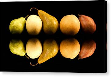 Pear Reflections Canvas Print by Cabral Stock