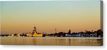 Pearl Harbor Dawn Canvas Print