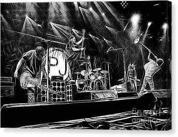 Pearl Jam Canvas Print - Pearl Jam Collection by Marvin Blaine