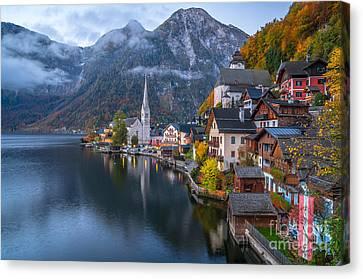 Hallstatt Canvas Print - Pearl Of Austria by JR Photography
