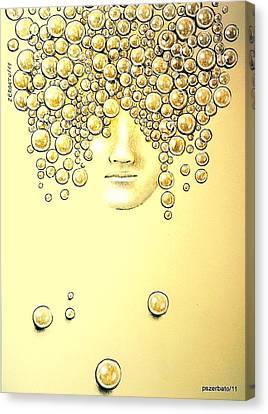 Pearls Of Wisdom Canvas Print by Paulo Zerbato