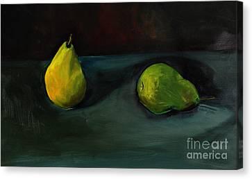 Pears Apart Canvas Print