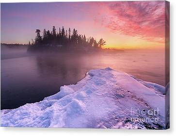 Pebble Beach Sunrise Canvas Print by Ernesto Ruiz