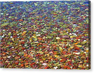 Pebbles Canvas Print by Marty Koch