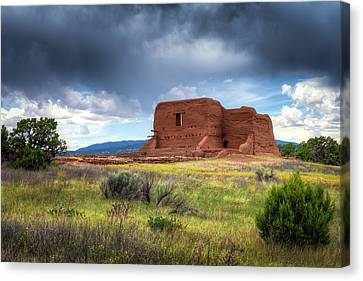 Pecos National Historical Park Canvas Print by James Barber