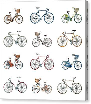Pedal Power Canvas Print by Sarah Hough