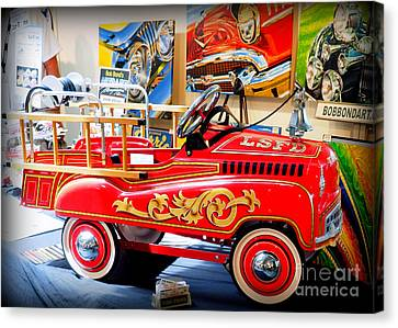 Peddle Car 1 Canvas Print