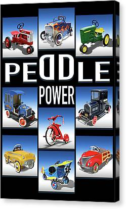 Peddle Power Canvas Print
