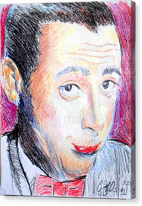 Pee Wee Herman  Canvas Print by Jon Baldwin  Art