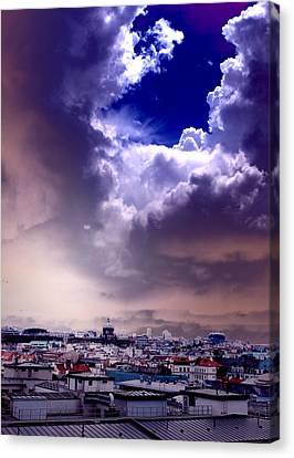 Peek Of Heaven Canvas Print by Sarah Jean Sylvester