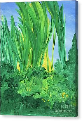 Canvas Print - Peeking Through by Karen Nicholson
