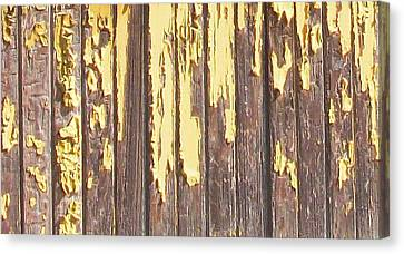 Ford Plant Canvas Print - Peeling Paint by Edmund Akers