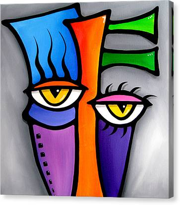 Peepers Canvas Print by Tom Fedro - Fidostudio