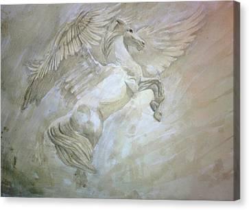 Pegasus Canvas Print by Helena Brnadic
