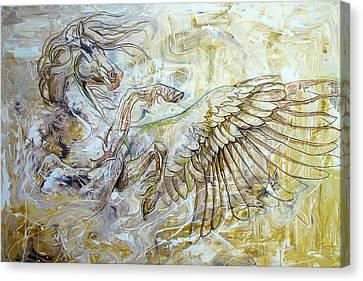 Pegasus  Canvas Print by Paco Rocha