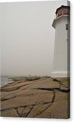 Peggy's Lighthouse Canvas Print by Mark Highfield