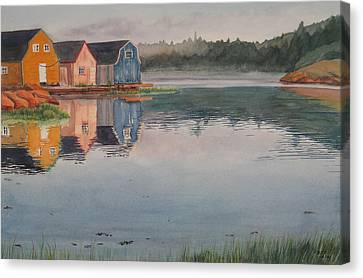 P.e.i. Morning Canvas Print by Debbie Homewood