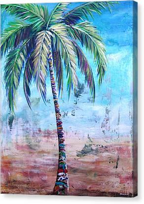 Pelican Palm I Canvas Print