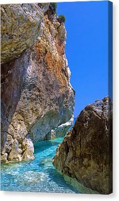 Pelion Rocks Canvas Print by Neil Buchan-Grant