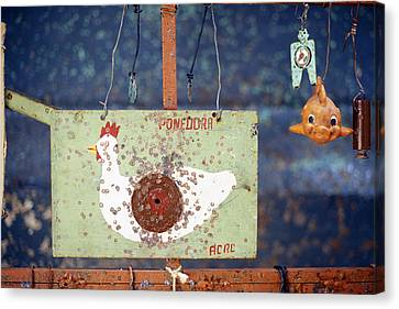 Pellet Gun Targets 3 Canvas Print