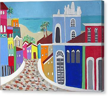 Pelourinho Canvas Print by Fatima Neumann