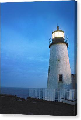 Pemaquid Lighthouse, Bristol, Me Canvas Print