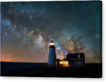 Pemaquid Mysteries Canvas Print