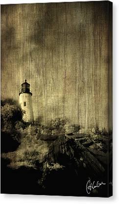 Pemaquid Point Canvas Print by Christine Hauber