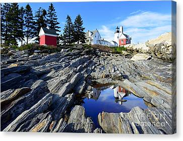 Canvas Print - Pemaquid Point Light by Catherine Reusch Daley
