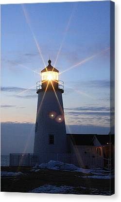 Pemaquid Point Lighthouse 2 Canvas Print by Tom Johnson