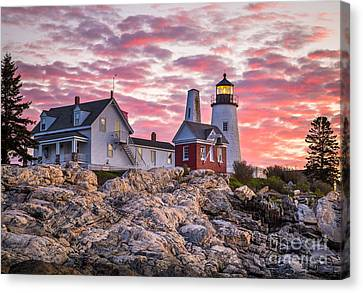 Pemaquid Point Lighthouse  Canvas Print