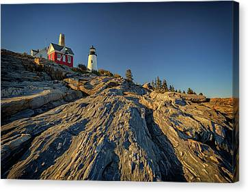 Pemaquid Point Canvas Print by Rick Berk