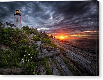 Pemaquid Sunrise Canvas Print