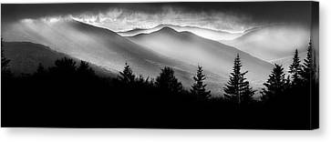 Canvas Print featuring the photograph Pemigewasset Wilderness by Bill Wakeley