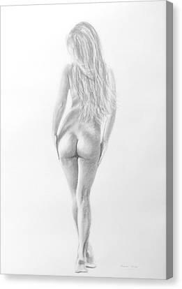 Pencil 15 Canvas Print