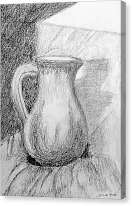 Pencil Pitcher Canvas Print by Jamie Frier