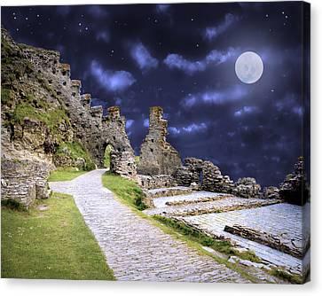 Pendragon Moon Canvas Print
