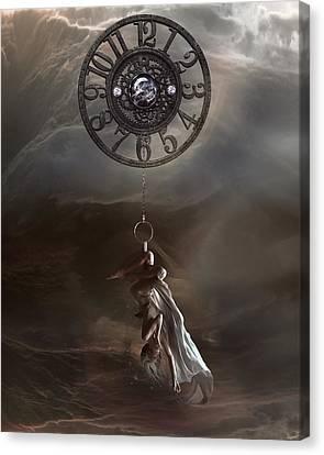 Pendulum Canvas Print by Mary Hood