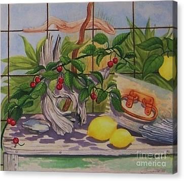 Penelope Canvas Print by Janet Summers-Tembeli